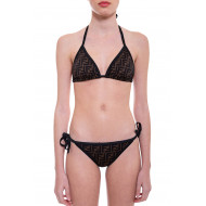 Achat Two-pieces swimsuit with FF prints, reversible - Jacques-loup