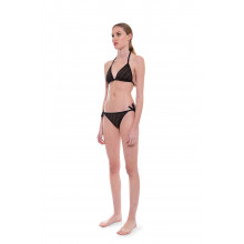 """Two-pieces swimsuit with """"FF"""" prints, reversible"""