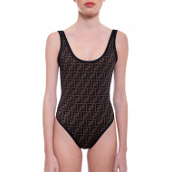 Achat One-piece swimsuit with FF logo printed - Jacques-loup