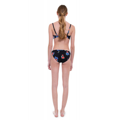 Achat Balconette bikini decorated with floral print - Jacques-loup