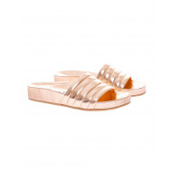 Achat Mules with nappa metallic... - Jacques-loup