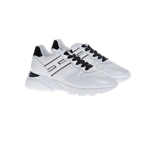 Achat Active One Leather sneakers with applied H - Jacques-loup