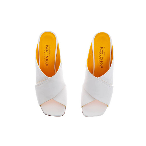 Achat Nappa leather mules with... - Jacques-loup