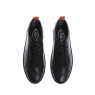 Achat Alacciatto Gomini - Leather sneakers with studs details - Jacques-loup