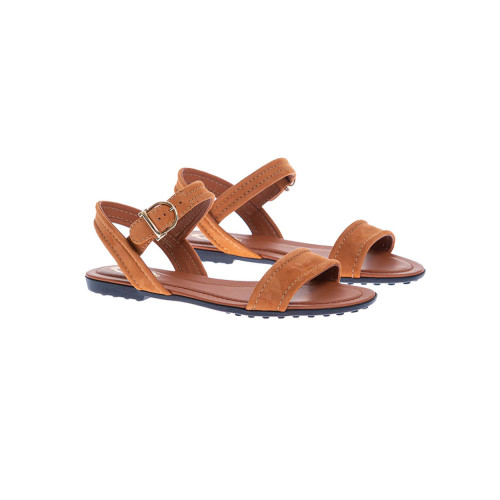 Achat Suede sandals with ankle strap - Jacques-loup