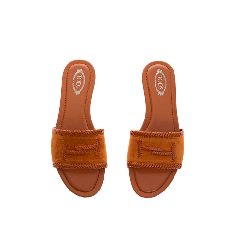 Achat Calf leather mules with topstitches - Jacques-loup