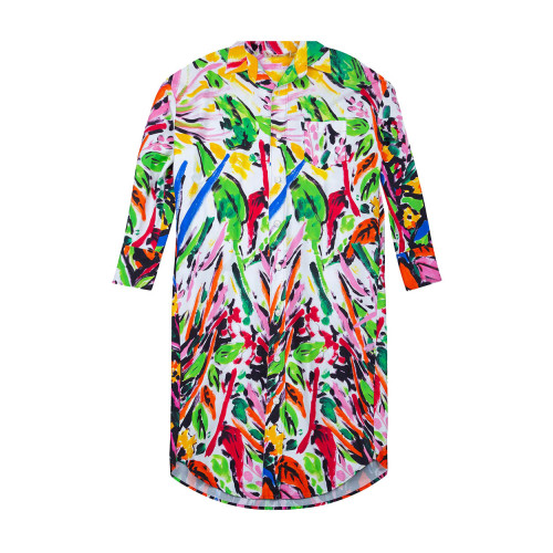Achat Robe chemise Marni over size multicolor - Jacques-loup