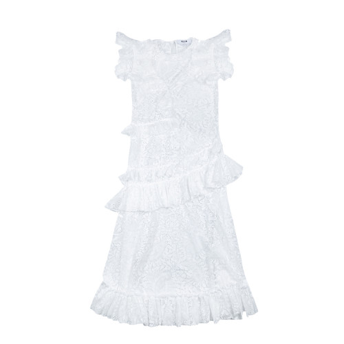 Achat Long lace dress with... - Jacques-loup