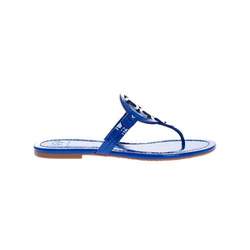 Achat Miller - Leather flip-flops with decorative logo - Jacques-loup