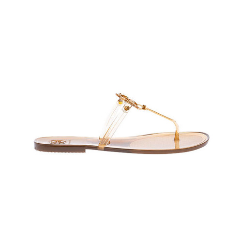 Achat Minnie Miller - Translucide toe thong mules with logo - Jacques-loup