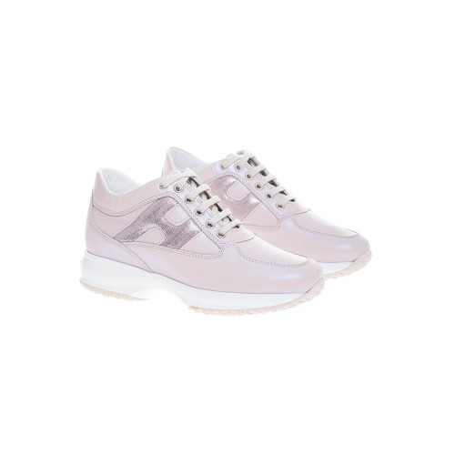 Achat Interactive - Pearly calf leather sneakers  50 - Jacques-loup
