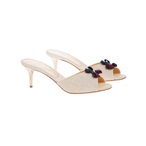 Achat Raphia mules with cherry... - Jacques-loup