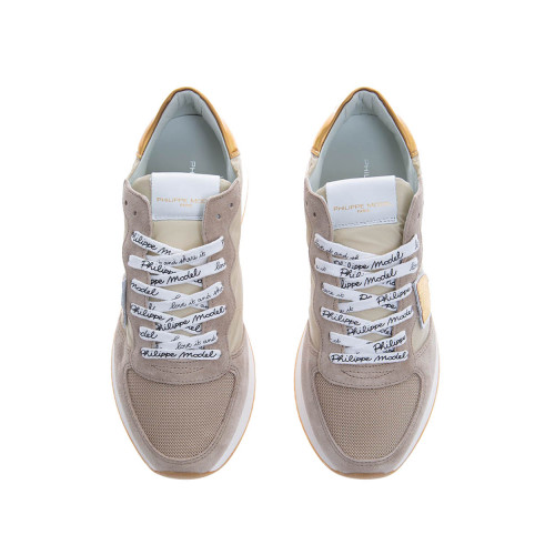 Achat Tropez X - Suede leather sneakers with escutcheons - Jacques-loup