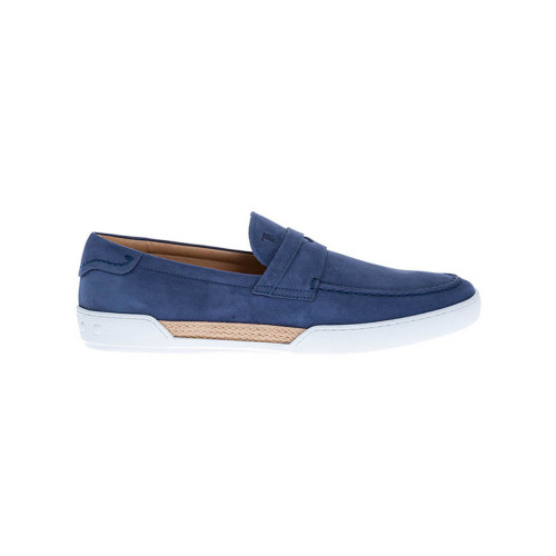 Achat Riviera Nubuck moccasins with stitched band on top - Jacques-loup
