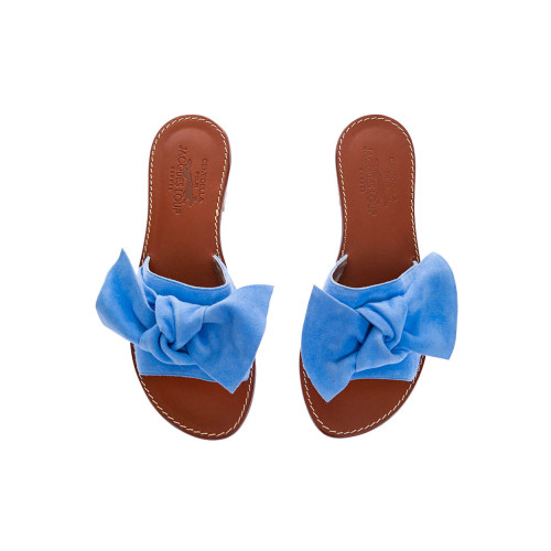 Achat Suede mules with large knot 25 - Jacques-loup