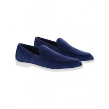 Pantofola Casual Business - Split leather moccasins
