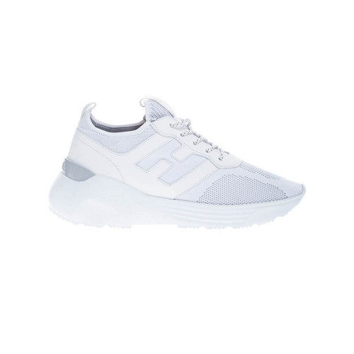 Achat Active One - Stretch tissue and calf leather sneakers 50 - Jacques-loup