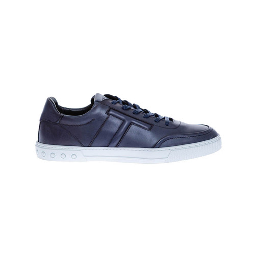 Achat Nuovo Cassetto Sportivo - Classy patina calf leather sneakers - Jacques-loup