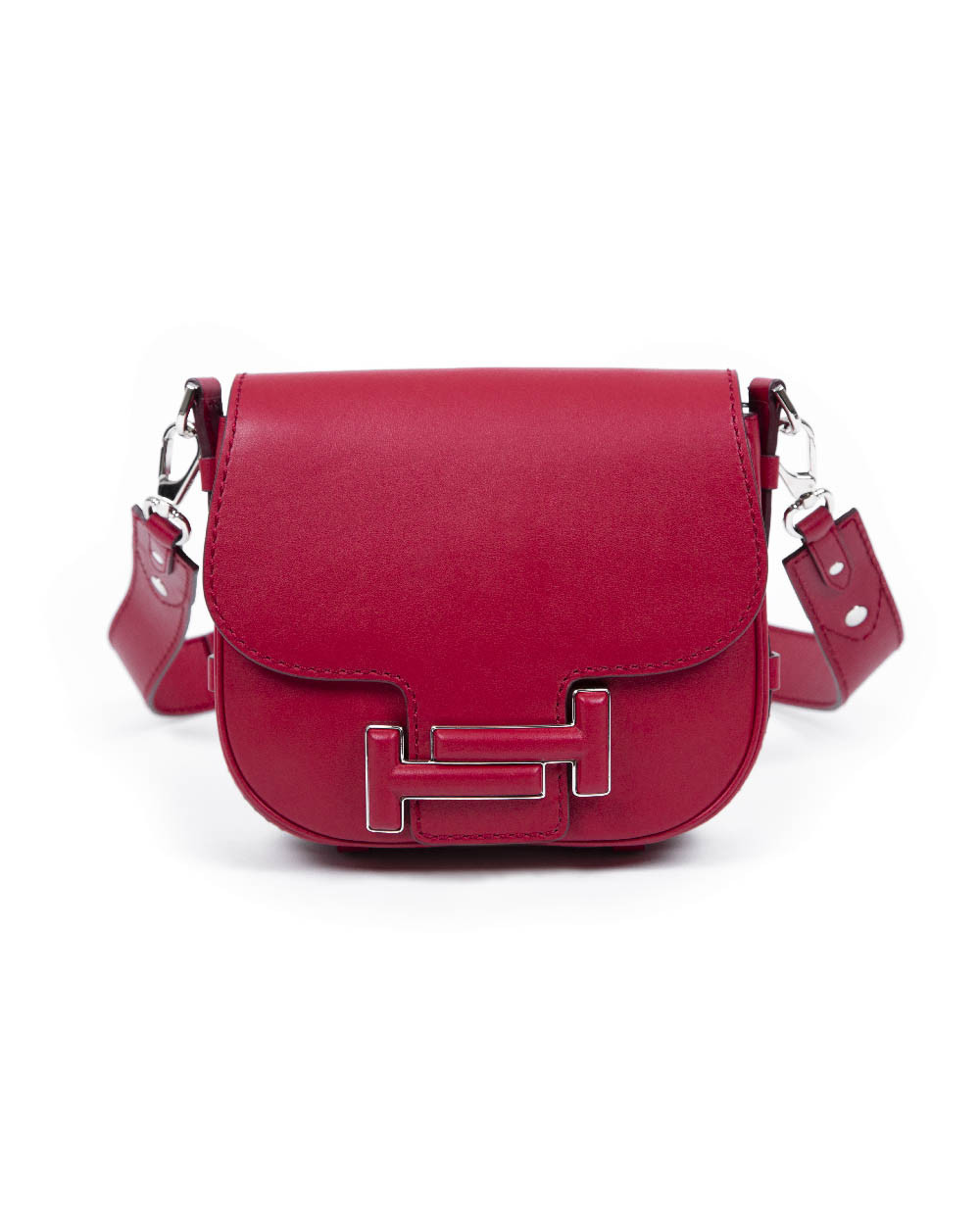 "Besace Tod's ""Double T"" rouge"