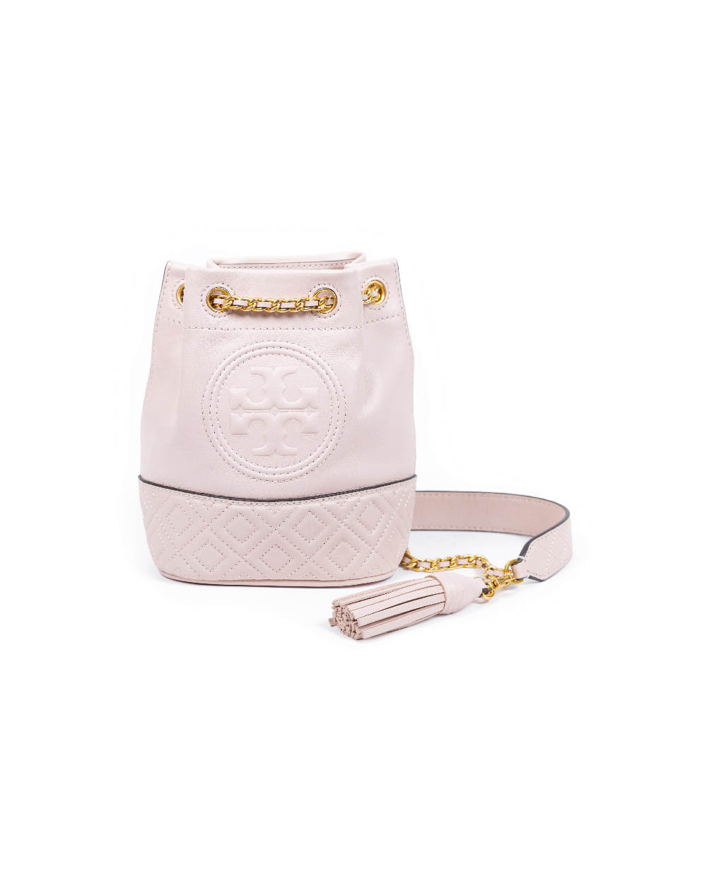 "Sac Tory Burch ""Fleming"" rose poudre"