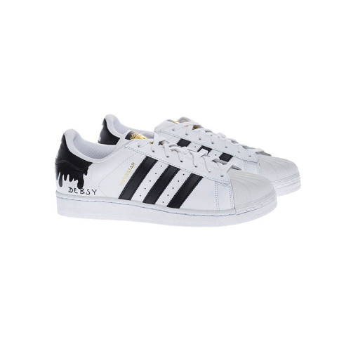 Achat Tennis shoes Adidas by Debsy - Super Star Flowing black for men - Jacques-loup