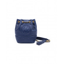 "Sac Tory Burch ""Fleming"" bleu marine"