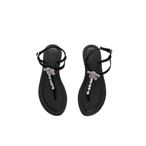 Achat Suede toe thong sandals... - Jacques-loup