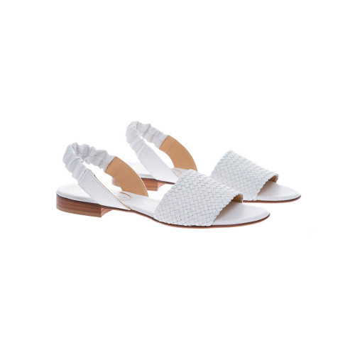Achat Nappa leather plaited sandals 15 - Jacques-loup