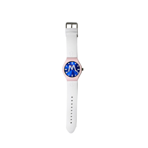 Achat Los Angeles - Mixed soft touch silicone and stainless steel watch - Jacques-loup