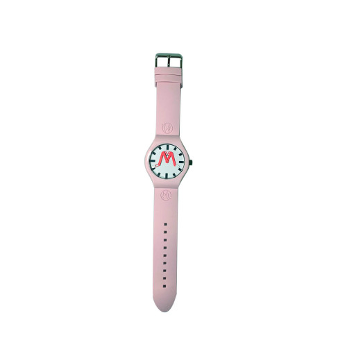 Achat Paris - Soft touch silicone and stainless steel watch water resistant - Jacques-loup