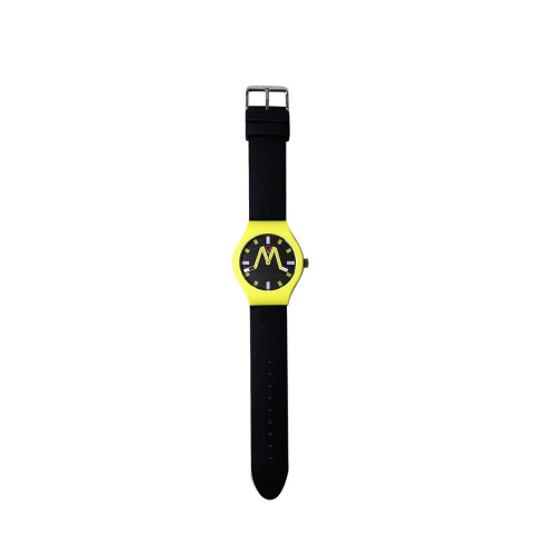 Achat London - Mixed soft touch silicone and stainless steel watch water resistant - Jacques-loup