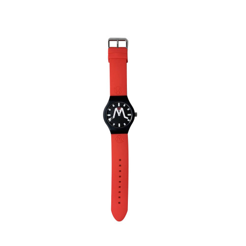 Achat Rio - Mixed soft touch silicone and stainless steel watch water resistant - Jacques-loup