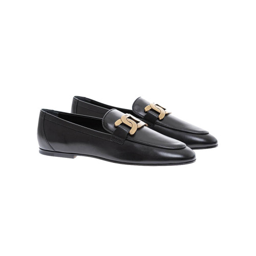 Achat Soft patinated calf leather moccasins with metallic links - Jacques-loup