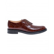 Achat Calf leather derbies croco print 25 - Jacques-loup