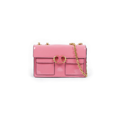 "Sac Tory Burch ""Jemina chain"" vernis rose"