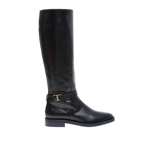Achat Soft calf leather high boots with metallic buckle 25 - Jacques-loup