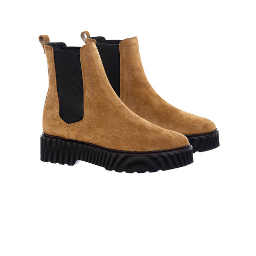 Achat Beatle - Split leather low boots with oversized outer sole - Jacques-loup