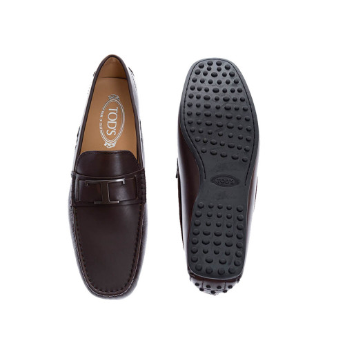 Achat City Gomini - Calf leather moccasins with brushed steel bit - Jacques-loup