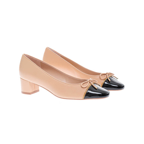 Achat Gabby - Patent leather ballerinas with golden chain 45 - Jacques-loup