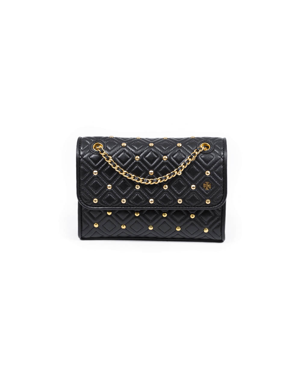 "Sac Tory Burch ""Fleming studd"" noir"