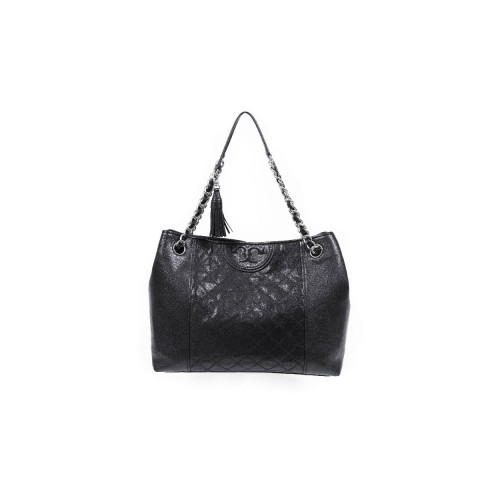 "Sac Tory Burch ""New Fleming"" noir grand modèle"
