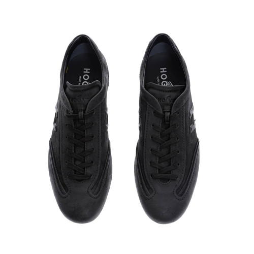 Achat Olympia - Patina calf leather and suede sneakers with stitched cuts - Jacques-loup