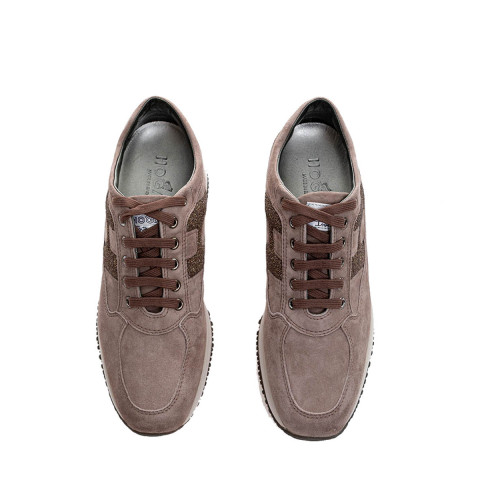 Achat Interactive - Suede and glitters sneakers 60 - Jacques-loup
