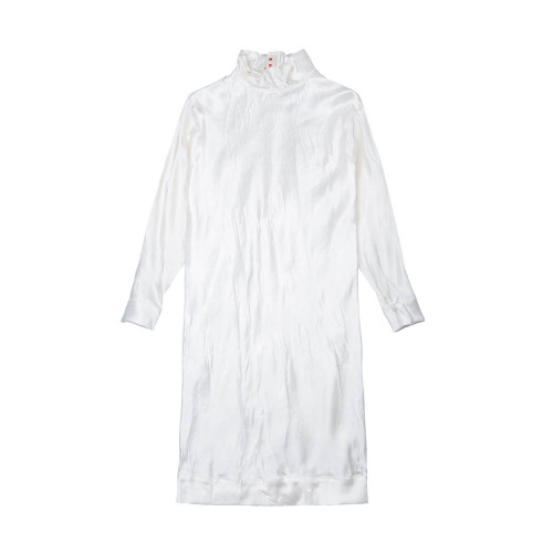 Achat Cupro dress with high collar LS - Jacques-loup