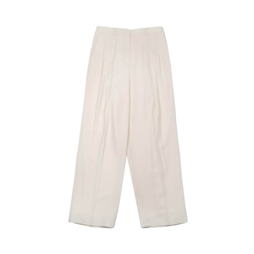 Achat Crepe de chine pleated pants - Jacques-loup