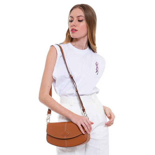 Achat C-Bag - Leather bag with shoulder strap - Jacques-loup