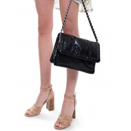 Pillow Bag - Soft natural leather with flap