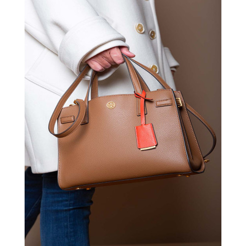 Achat Walker Small Satchel - Grained calfskin with wrapped scarf - Jacques-loup